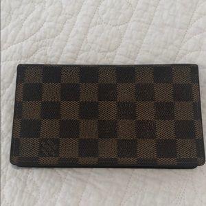 Authentic Louis Vuitton Credit Card Bi-Fold Wallet